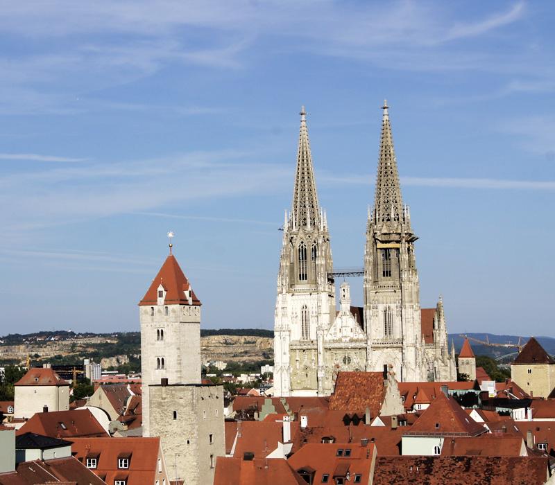 Regensburg Altstadt mit Dom